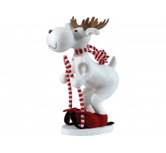Floor christmas reindeer 25x35xH58cm