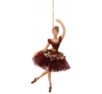 Christmas ballerina ornament